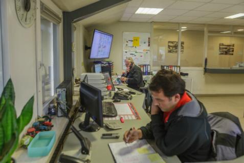 WerkOrder en WerkExpert op kantoor Meiland Azewijn